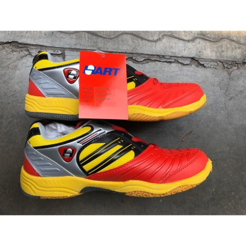 Foto Produk Sepatu Badminton Hart HS 503 - Merah, 36 dari tokoreadygan