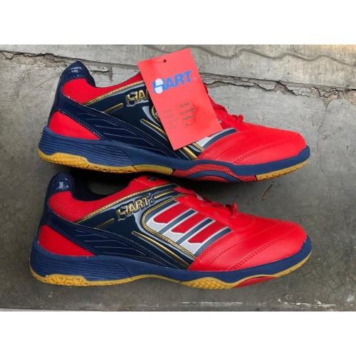 Foto Produk Sepatu Badminton Hart HS 305 - Merah dari tokoreadygan