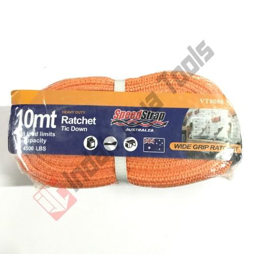 Foto Produk Rachet Tie Down 2 Inch x 10 Meter / Tali Pengikat Motor Truk dari Indah Jaya Tools