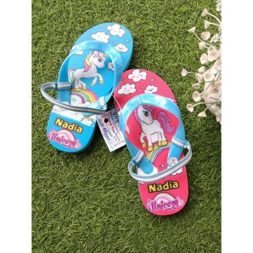 Foto Produk Unicorn sandal sendal jepit teplek wanita   Sandal rumah  sandalpantai dari casaloma