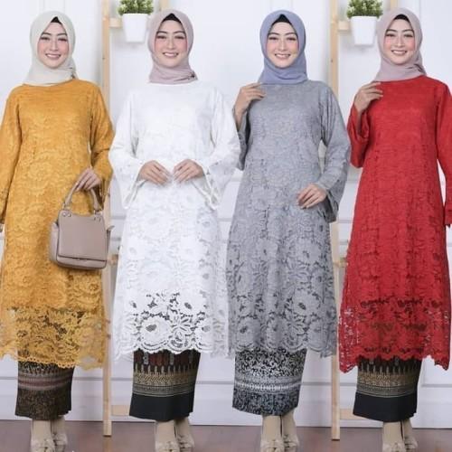 Foto Produk Atasan Kebaya Brukat Full Furing dari Butik Busana Fashion
