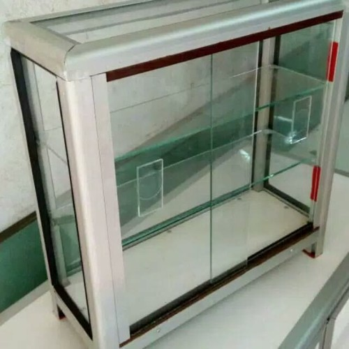 Foto Produk Etalase kaca ukuran kecil imut dari kemven store