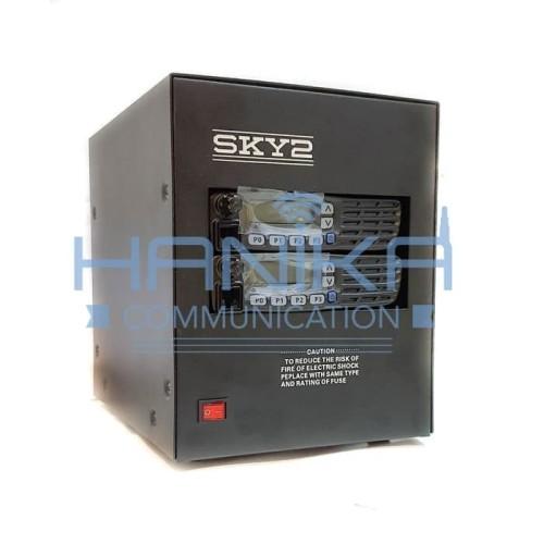 Foto Produk Set Repeater Icom UHF 350-400MHz IC-F6123H Ori 40W Duplexer SKY2 6123 dari Hanika Communication