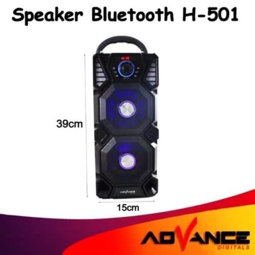 Foto Produk Speaker Advance H-501 BT + MIC dari Toko Ganjaran