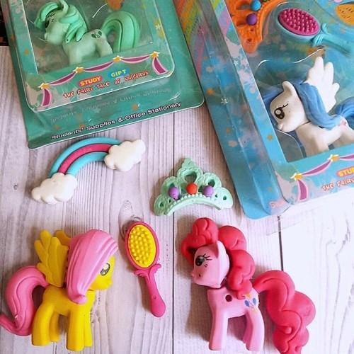 Foto Produk Set Penghapus Pensil Puzzle - Bentuk Little Ponny dari Frizia Collection