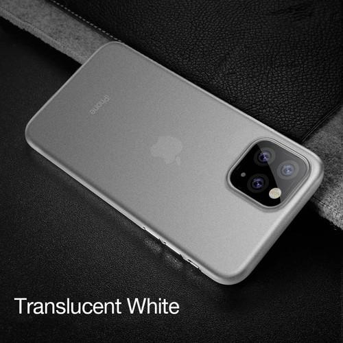 Foto Produk CAFELE Ultra Thin Case - iPhone 11 Pro Max iPhone 11 Pro iPhone 11 - Putih, iPhone 11 dari Cafele Official Store