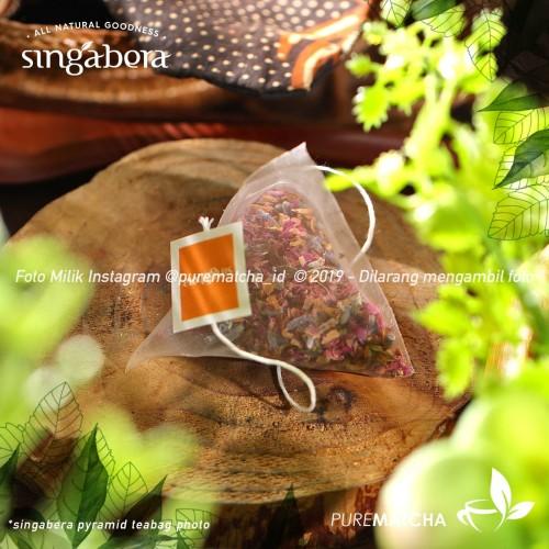 Foto Produk Singabera - Petals of Aruna 1tb Sample Rose Tea Lavender Artisan Mawar dari Pure Matcha