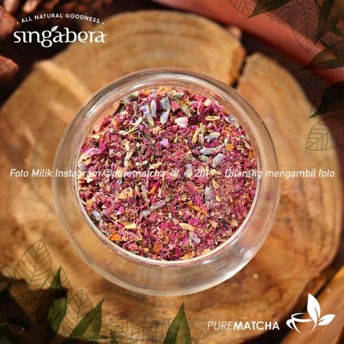 Foto Produk Singabera - Petals of Aruna 10gr Sample Teh Rose Lavender Artisan Tea dari Pure Matcha