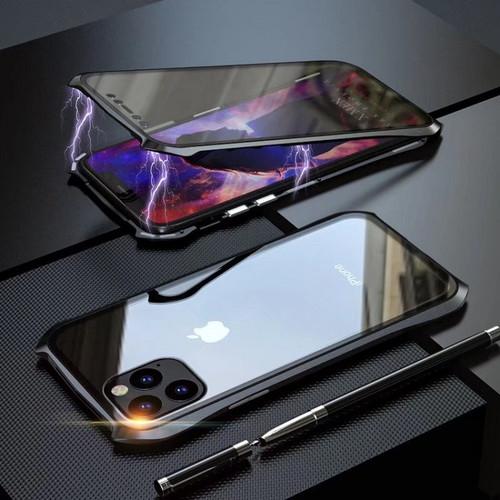 Foto Produk Magnet magnetic case All Iphone 11 / PRO / MAX 11PRO casing simple - Merah, 6 6S dari Caseayangan ID