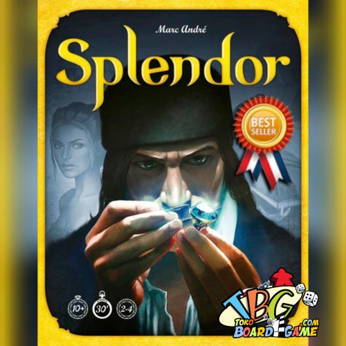 Foto Produk Splendor ( Original ) Board Game | Board Games | BoardGame dari Toko Board Game