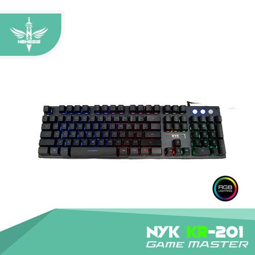 Foto Produk NYK Nemesis Keyboard Gaming KR-201 Game Master dari NYK Official Store