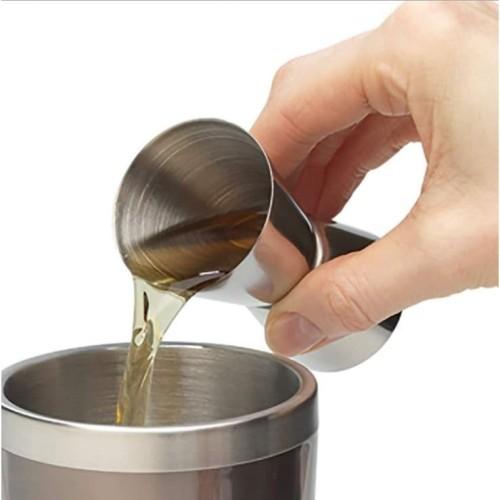 Foto Produk Gelas ukur / Gelas takar / Gelas Takaran / Jigger stainless dari aromakaldi