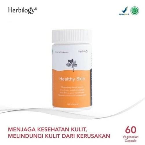 Foto Produk HERBILOGY HEALTHY SKIN 60 veg caps dari smart green mommy