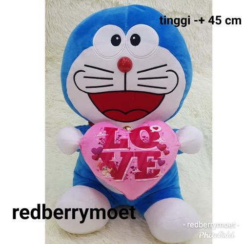 Foto Produk boneka doraemon love besar dari redberrymoet