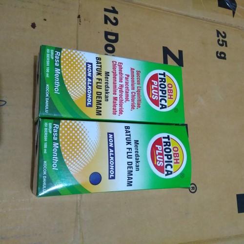 Foto Produk obh tropica plus // 100 ml // obat batuk mentol // 1 botol dari toko permata kreo