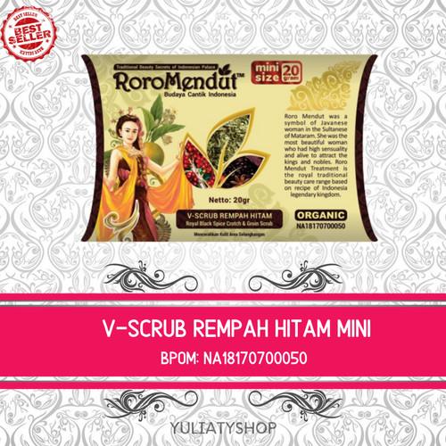 Foto Produk V-Scrub Rempah Hitam - 20 GRAM dari Roro Mendut Original Store