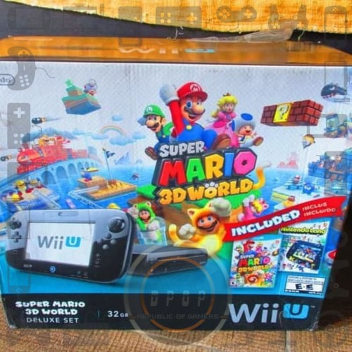 Foto Produk Wii U pre owned mulus dari dpopshop
