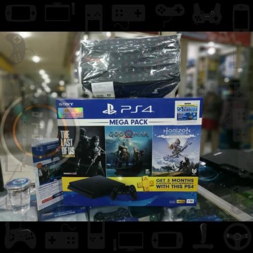 Foto Produk PS 4 Slim Mega Pack 1TB - NEW dari dpopshop