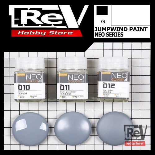 Foto Produk JUMPWIND NEO CLEAR COAT SERIES [READY STOCK] CAT GUNDAM MODEL KIT - SEMI GLOSS dari RevHobbyStore
