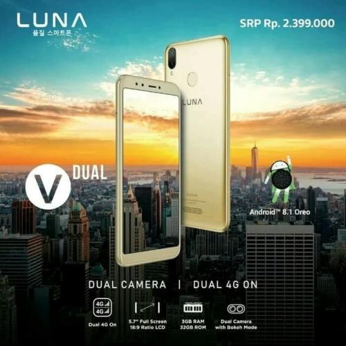 Foto Produk Luna v57 ram3/32 resmi dari mofan store