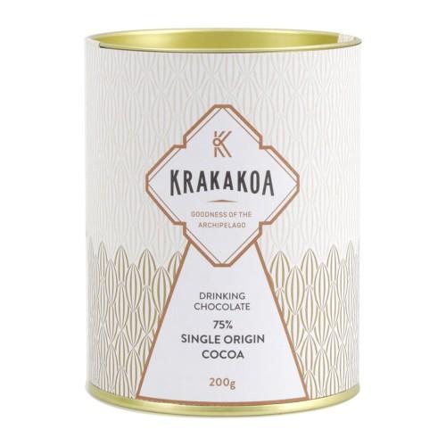 Foto Produk Krakakoa - Drinking Chocolate Dark 75% - Cokelat Bubuk - Organik dari Jagapati