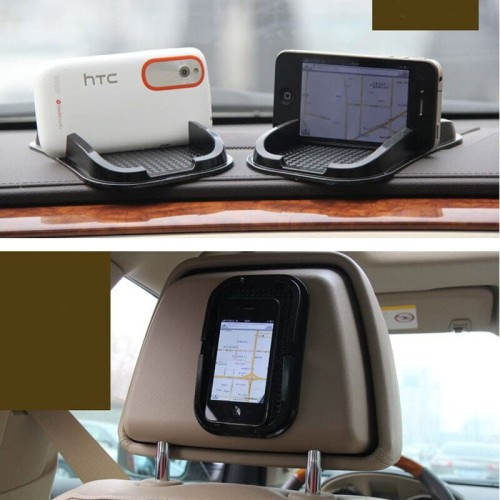 Foto Produk Sticky Pad Tray Car Phone Holder Anti Slip Tempat HP Dashboard Tray dari GudangHID