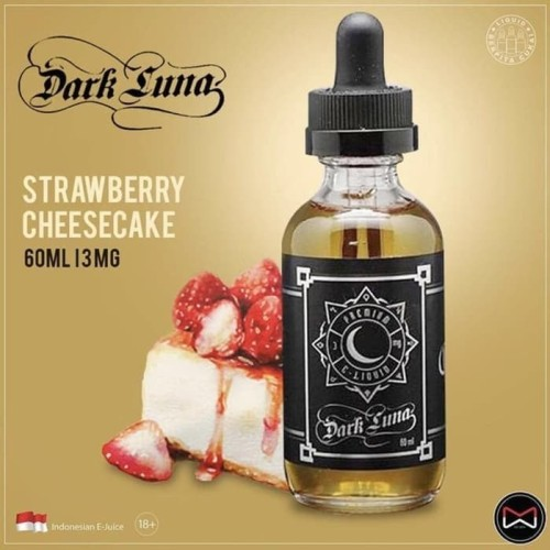 Foto Produk Ori Dark Luna Liquid 60ml Emkay Strawberry Cheesecake dari SahabatVapor