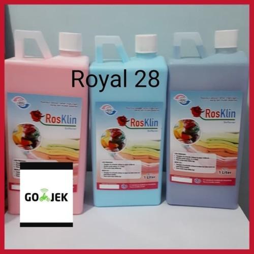 Foto Produk Softener sekali bilas merk Rosklin (Asli) - Biru dari Royal 28