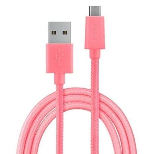 Foto Produk Zikko Premium Micro USB Cable SC100-150R - Pink dari Clarias Shop