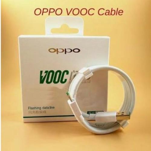 Foto Produk Kabel cable Data Oppo VOOC micro usb Original ori asli fast charging s dari Clarias Shop