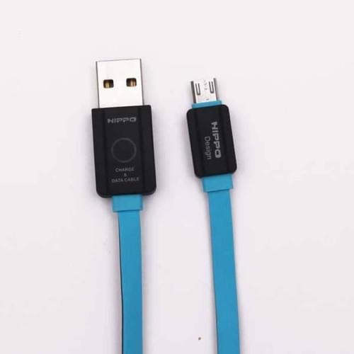 Foto Produk Kabel Data HIPPO Teleport Versi 2 Micro USB 200cm 2 Meter Cable Charge dari Clarias Shop