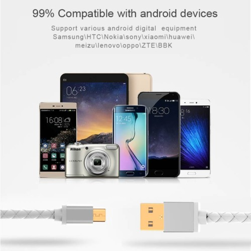 Foto Produk COD Kabel Data Lightning Android For handphone Xiaomi Oppo Samsung Out dari Clarias Shop