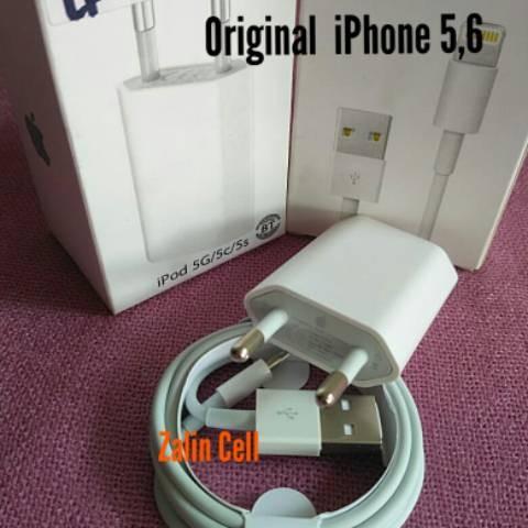 Foto Produk Charger casan adapter Usb cable kabel data iphone Apple 5 5s 6 6s dan dari Clarias Shop