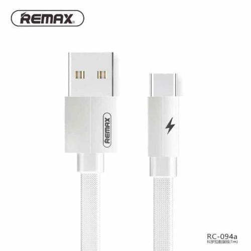 Foto Produk 2M REMAX TYPE-C USB Kabel Data Kerolla RC-094A Fast Charging Cable dari Clarias Shop