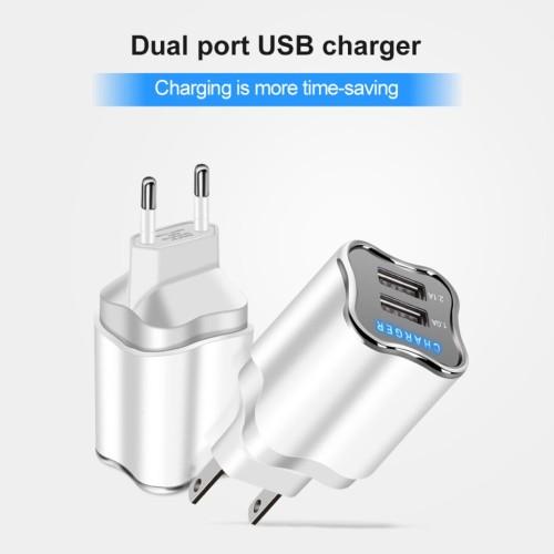 Foto Produk Charger Travel Adaptor Colokan USB 2 Ports JOYSEUS Quick Charging - CL dari Clarias Shop