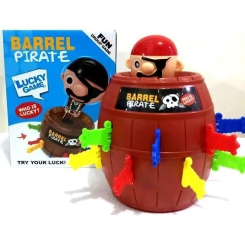 Foto Produk Mainan Anak Pirate Barrel Lucky Game HZ020 dari Toko-Ku by FAS-TOP