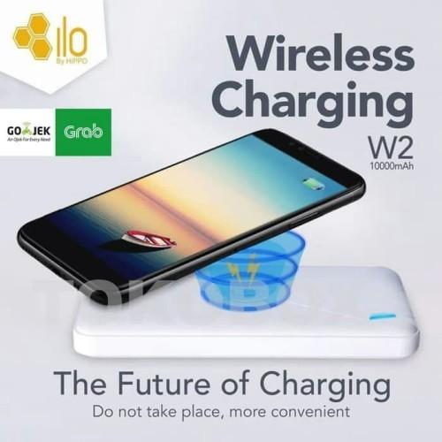 Foto Produk Power bank Hippo ILO W2 10.000 mah wireless charging dari mofan store