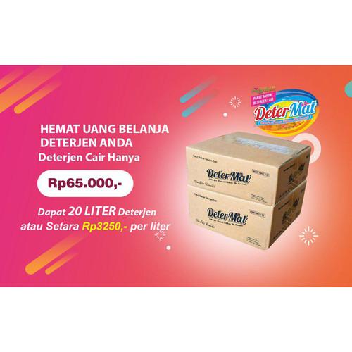 Foto Produk Paket Bahan Deterjen Cair Matic Rendah Busa - DETERMAT dari Produsen Kurma Coklat