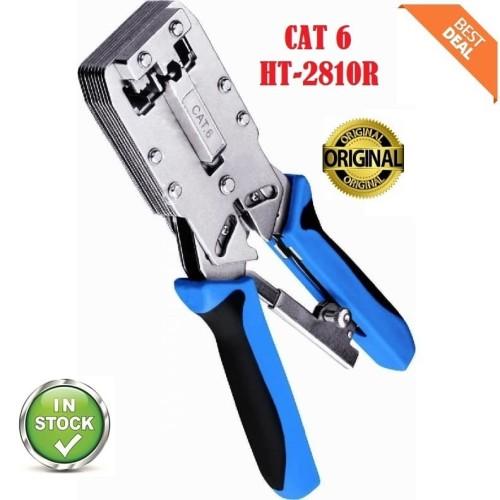 Foto Produk Crimping Tool Cat 6 - Cat6 HT 2810R - Tang Crimping Tool Cat 6 dari Finel Computer Bintaro