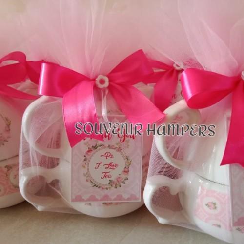 Foto Produk souvenir hampers teko ulir packing tile dari Chloe boetik