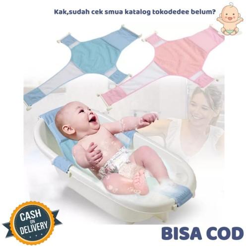Foto Produk TokoDedee - Jaring Bak Mandi Bayi / Alas Mandi / Baby Bath Support dari tokodedee