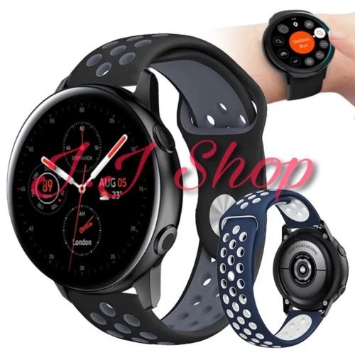 Foto Produk Strap Band Nike Volt Series Samsung Galaxy Watch Active 2 40mm 44mm dari Logam Mulia Termurah