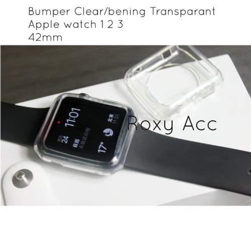 Foto Produk Soft case Casing Jelly Case Bumper Apple Watch 42mm Silicone Case dari Roxy Acc