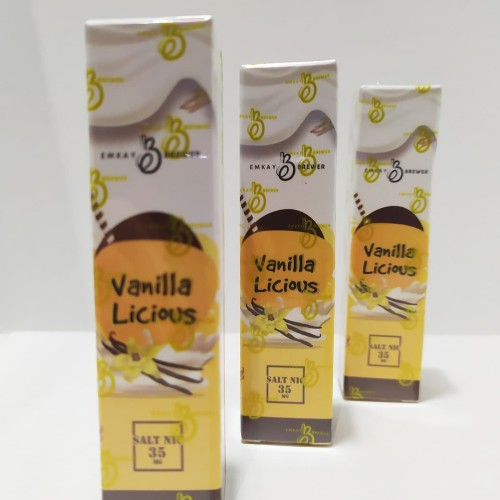Foto Produk juice vanilalicious salt vanila licious original dari JM2Shop