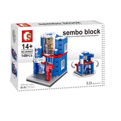 Foto Produk Lego sembo Block Pepsi Hot Sale store 149pcs dari darilynn