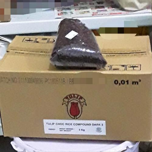 Foto Produk Meses tulip dark compound Harga Promo repack 1kg dari darilynn