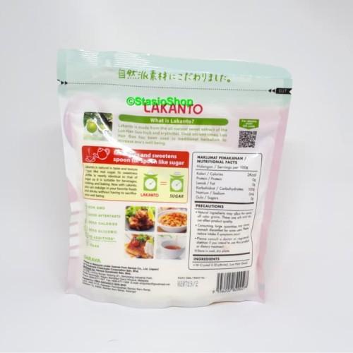 Foto Produk LAKANTO Lou Han Guo High Class Sweetener Gula Keto Friendly 200gr dari darilynn