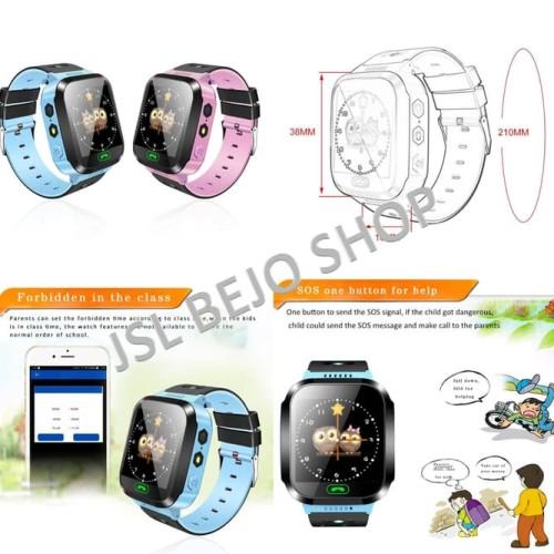 Foto Produk Jam Tangan GPS Anak. Termurah GPS Tracker Kids. Q80 1.44 warn dari darilynn