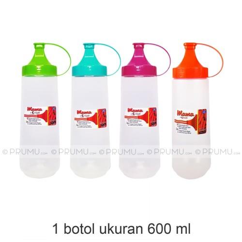 Foto Produk Botol Kecap 600 ml | Botol Saos | Botol Mayonnaise | Squeeze Bottle dari PRUMU dot com