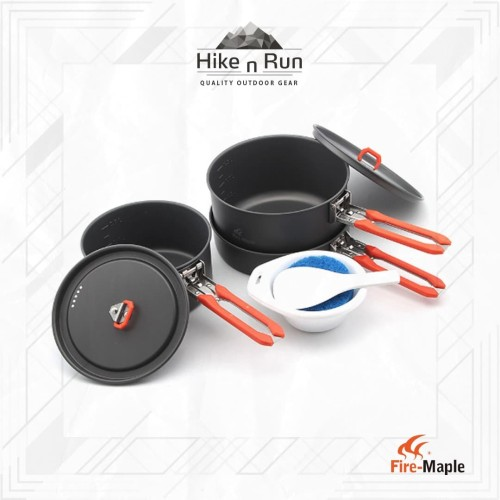 Foto Produk Fire Maple FEAST3 Camping Cookware Pot Sets dari Hike n Run